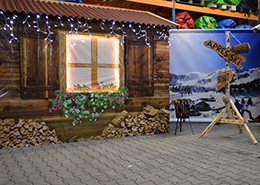 Tiroler bierfest of Apres ski party